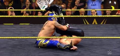 NXT Takeover2 Kalisto Viktor
