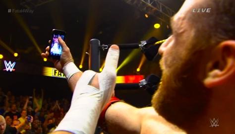 NXT Takeover2 Sami Zayn 3