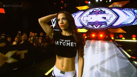 NXT Takeover2 Sasha Banks