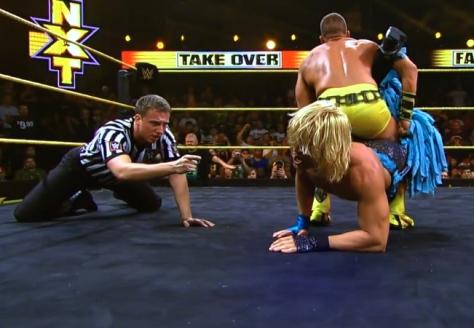 NXT Takeover2 Tyler Breeze Tyson Kidd