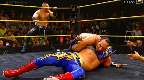 NXT Takeover2 Viktor Sin Cara