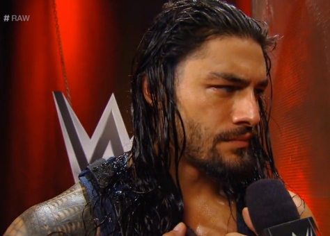 RAW 090814 Roman Reigns