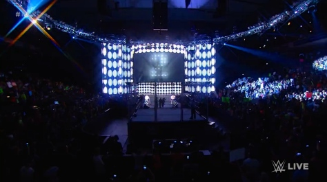 RAW 090814 Steel Cage
