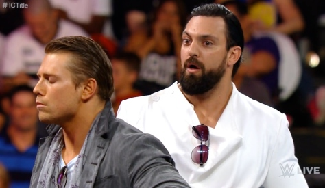 RAW 090814 The Miz Damien Sandow 2