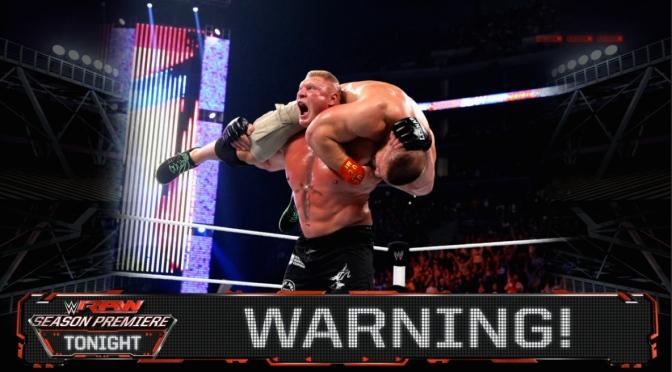 """WWE RAW """"Season Premiere"""" review (Sept. 8)"""