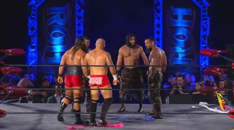 ROH 083014 War Machine The Briscoes