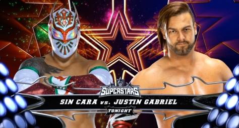 Superstars 091114 Justin Gabriel Sin Cara