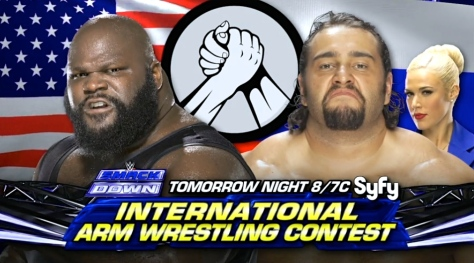 Superstars 091114 Mark Henry Rusev Lana
