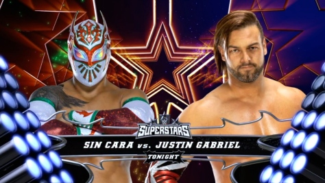 Superstars 091814 Justin Gabriel Sin Cara