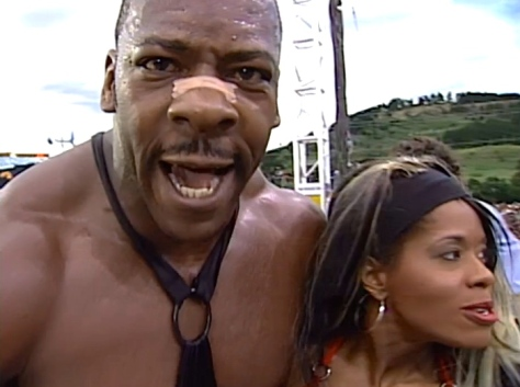 WCW Road Wild 1997 Booker T Jacqueline