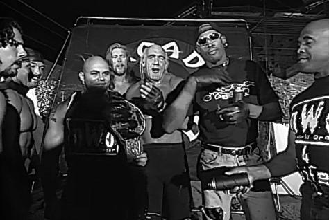 WCW Road Wild 1997 Dennis Rodman nWo