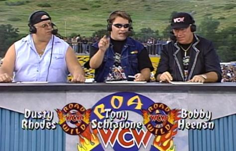 WCW Road Wild 1997 Dusty Rhodes Tony Schiavone Bobby Heenan