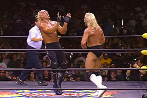 WCW Road Wild 1997 Hollywood Hulk Hogan Lex Luger 2