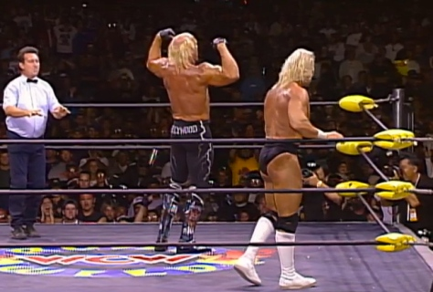 WCW Road Wild 1997 Hollywood Hulk Hogan Lex Luger