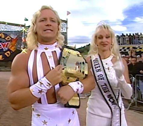 WCW Road Wild 1997 Jeff Jarrett Debra