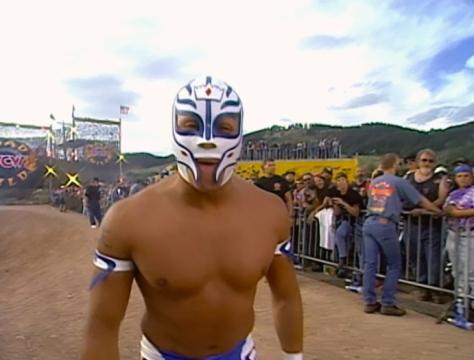 WCW Road Wild 1997 Rey Misterio Jr