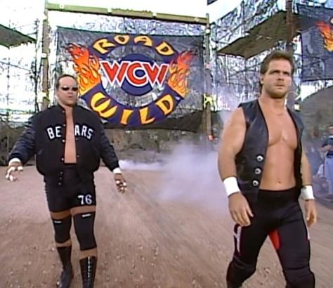 WCW Road Wild 1997 Steve McMichael Chris Benoit